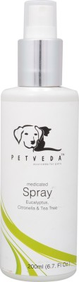Petveda No-Tick Spray 200 ml Pet Coat Cleanser(Suitable For Dog, Cat)