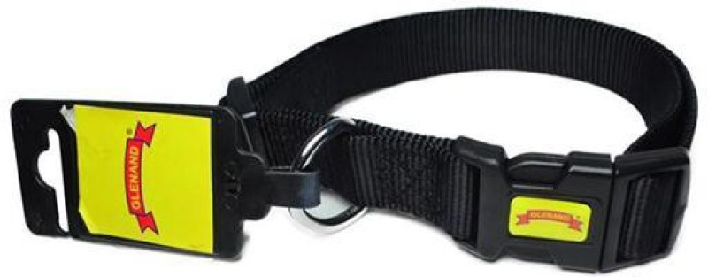 Glenand Clip Midium Plain Dog Collar Charm(Black)