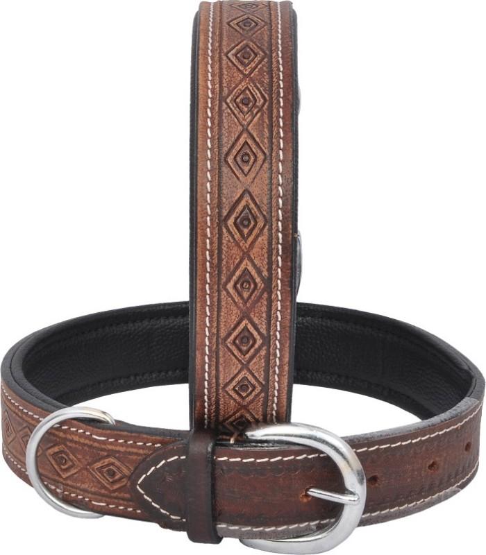 Wonder Wish Plain Dog Collar Charm(Brown, Other)