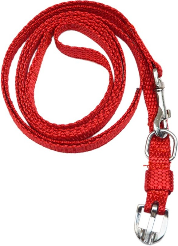 Scoobee Plain Dog & Cat Collar Charm(Red, Black, Rectangle)