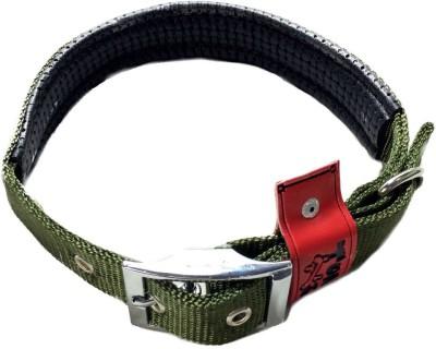 TommyChew Plain Dog Collar Charm(Brown, Round)
