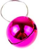 Pawzone Bell Dog Collar Charm (Pink, Rou...