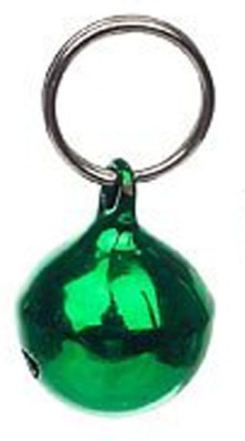 Pawzone Bell Cat Collar Charm(Green, Round)