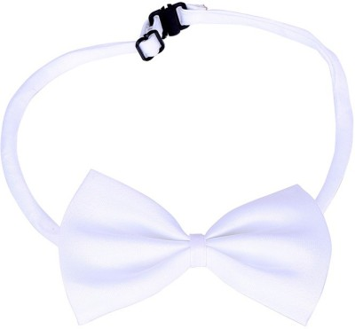 Futaba Futaba Fashion Dog Bowknot Tie - White Embellished Dog Collar Charm