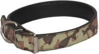 Pethub Army Printed Collar Dog Everyday Collar(Small, Green)