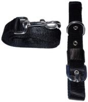 Pethub Dog Collar & Leash(Small, Black)