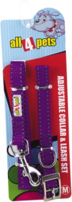 All4pets Dog Collar & Leash