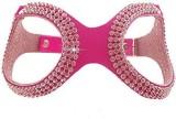 Futaba Dog Harness & Leash (Medium, Pink...