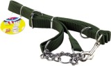All4pets Dog Harness & Chain (Small, Gre...