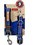 Petslike Dog Collar & Leash (Large, Blue...