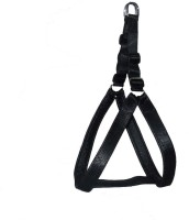 Bow! Wow !! Dog Safety Harness(Extra Large, Black)