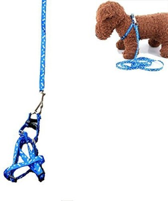 Futaba Traction Rope Nylon Leash Harness Chest Collar Drawing Neck Lead Strap Dog Harness & Leash