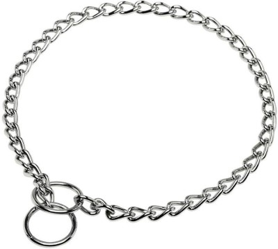 KRISTAL Small Pet Dog Collar & Chain