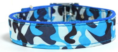 XPO Blue Printed Large Dog Everyday Collar