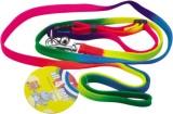 All4pets Dog Harness & Leash (Medium, Mu...