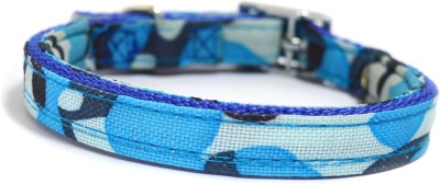 XPO Puppy Blue Nylon Printed Dog Everyday Collar