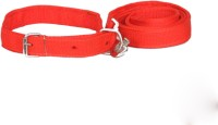 Pet Club51 collar and leash Dog Collar & Leash(Medium, RED)