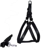Pet Club51 Dog Standard Harness(Small, Black)