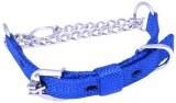 Petshop7 Blue Nylon 1 Inch Dog Choke Cha...