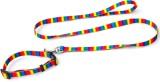 XPO Exotic Rainbow Design Dog Collar & L...