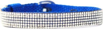 XPO Rhinestone Blue Small Dog Show Collar
