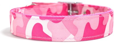XPO Pink Printed Large Dog Everyday Collar