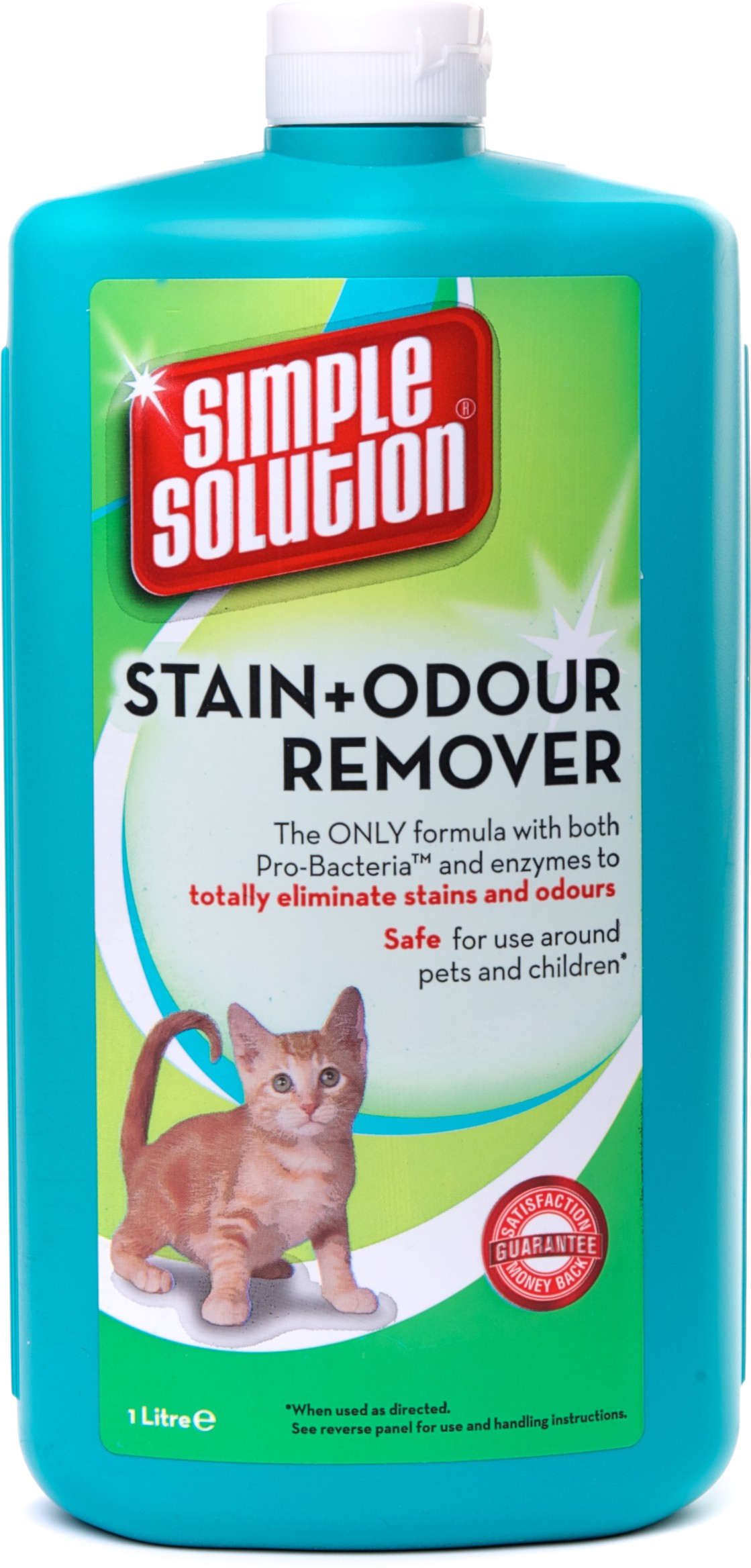 Bramton Simple Solution Cat Stain & Odor Remover Fresh Cologne(1000 ml)