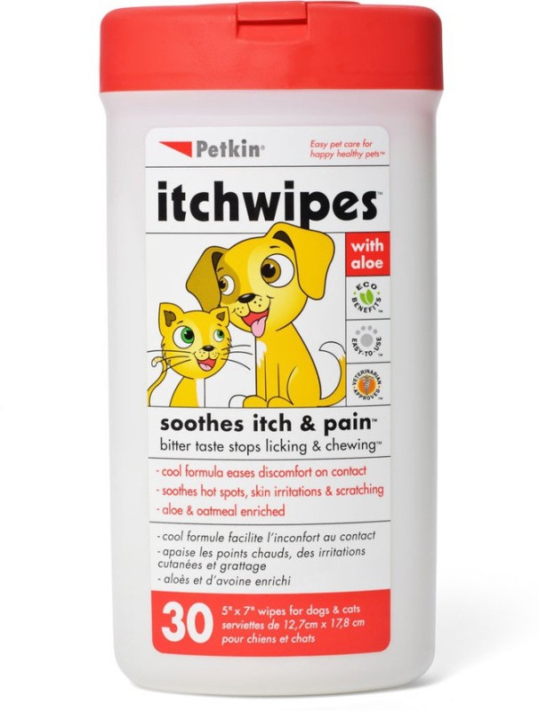 Petkin ITCHWIPES 30 Cologne(30 ml)