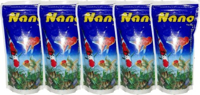 Hana Nano 5x100gm Pouch Fish Fish Food