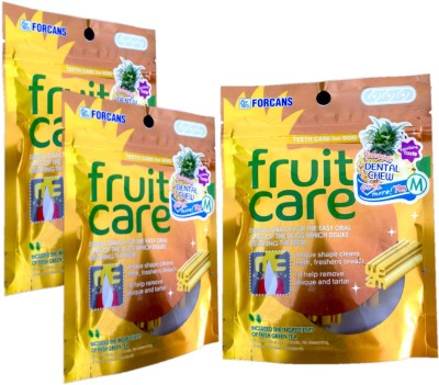 Forcans Fruit Care (Pinepple) M(Pack of 3) Fruit Dog Food