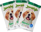 JerHigh Treats Spinach Dog Food (210 g P...