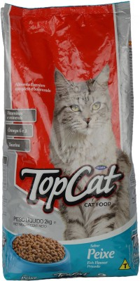 Top Cat - Fish Cat Food(2 kg Pack of 1)