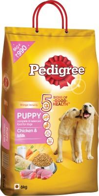 Pedigree 6kg Chicken, Milk Dog Food