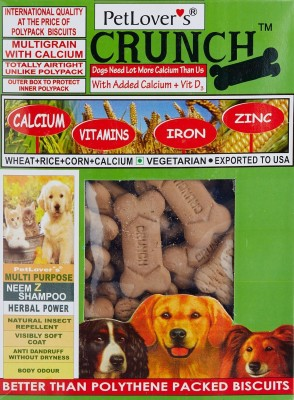 Pet Lovers Crunch Veg (Pvc) Dog Food