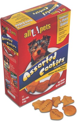 All4pets Cookies Chicken, Liver Dog Food