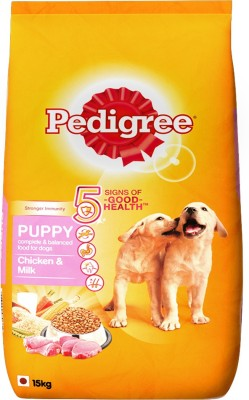 Pedigree Puppy Milk, Chicken Dog Food(15 kg Pack of 1)