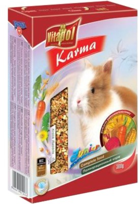 Vitapol Junior for Young Rabbit C Rabbit Food(400 g Pack of 3)