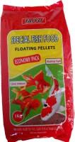 Taiyo ECONOMY 1kg - 1.2MM pellet ** COLOURFUL AQUARIUM Fish Fish Food(1 kg Pack of 1)
