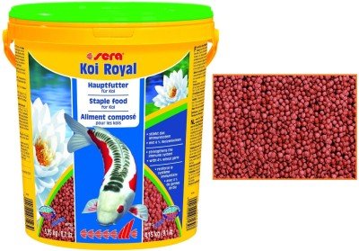 Sera Koi Royal Staple 3.95kg/21 Liter   Medium Pellet NA Fish Food