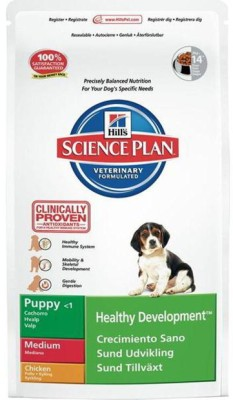 Hills Science Plan Puppy Medium Chicken 3 Food