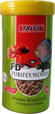 Taiyo Tubifex Worms 100gm Fish Fish Food