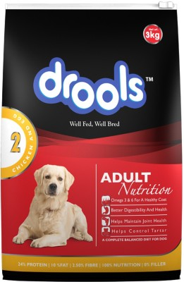 Drools Adult chicken and egg Chicken, Egg Dog Food