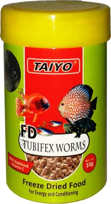 Taiyo Tubifex Worms 10gm Fish Fish Food