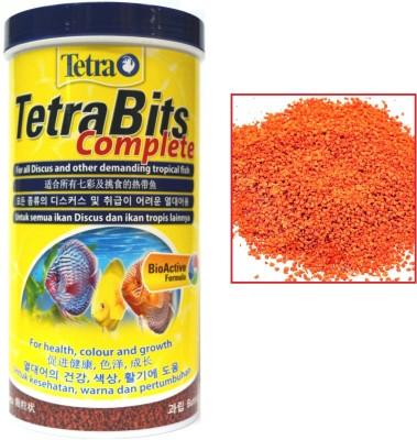 Tetra Bits Complete 300g/1000ml | Bio Active Formula | For All Discus and Other Demanding Tropical NA Fish Food