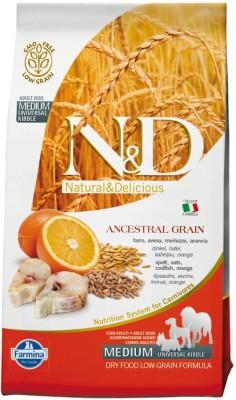 Farmina N&D LG Codfish & Orange Adult 2.5 Kg Fish Dog Food