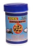 Toya tubifex worms Fish Fish Food (12 g ...