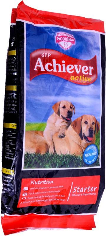 Scoobee Achiever Chicken, Beef Dog Food(1300 g Pack of 1)
