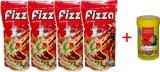 Hana Fizza 4x100gm Pouch +10gm Tubifex W...