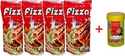 Hana Fizza 4x100gm Pouch +10gm Tubifex Worms Fish Fish Food