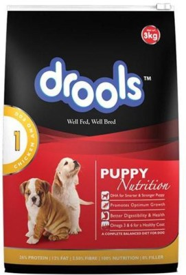 Drools Puppy Chicken, Egg Dog Food